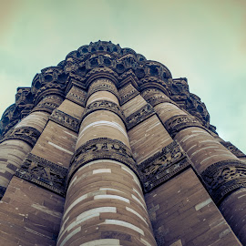 Qutb Minar,  by Ganesh Natarajan - Buildings & Architecture Public & Historical ( love, newdelhi, mustsee, peace, india, minar, qutb )