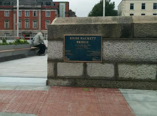 Rosie Hackett Bridge - South