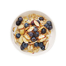 Blueberry-Almond Oatmeal