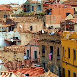 Cagliari, Sardegna by Cezar Paul-Badescu - Buildings & Architecture Homes ( urban, sardegna, cagliari, sardinia, lifestyle, city )