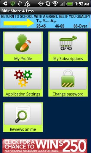 【免費交通運輸App】Rideshare4Less-APP點子