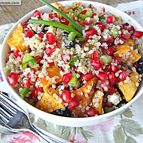 Pomegranate Sweet Potato Quinoa
