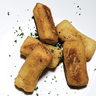 Fried Polenta Cheese Fritters