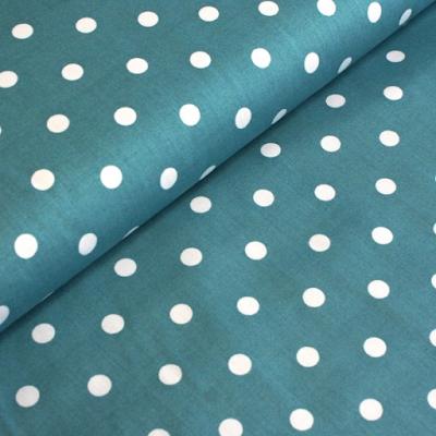 acheter tissu de coton bleu canard pois blancs roubaix chez tissus papi dilengo. Black Bedroom Furniture Sets. Home Design Ideas