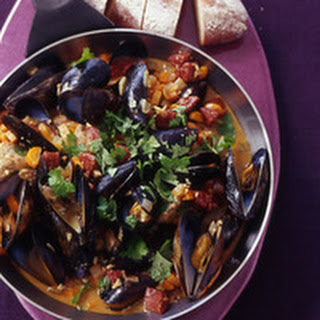 Alentejo Pork with Chorizo and Mussels