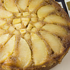 Spice Apple Upside-Down Cake