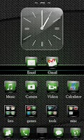 Screenshot of Evolve Green Go Theme
