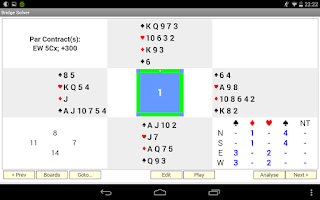 Screenshot of Bridge Solver