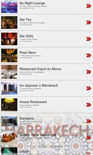 Marrakech Guide Beta