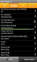 Screenshot of MusicMonster.FM