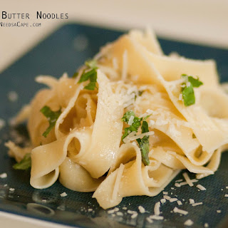 Egg Noodles With Butter And Cheese Recipes