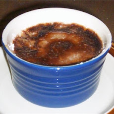 Chocolate and Grand Marnier Creme Brulée