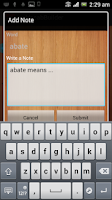 Screenshot of GRE Vocab Builder in Bangla