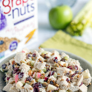 Chicken Salad with Grape-Nuts and Cranberries
