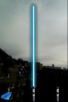 Screenshot of Augmented Star Wars Lightsaber