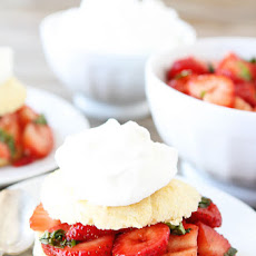 Balsamic Strawberry Ricotta Shortcakes
