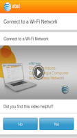 Screenshot of AT&T TS&R Mobile