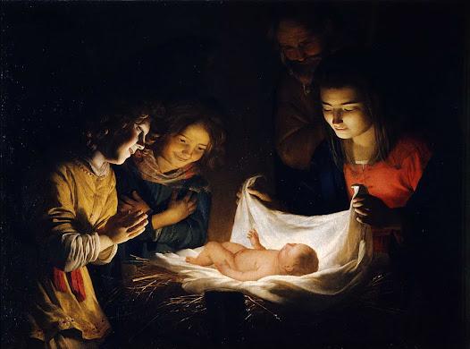 Notti Gherardo delle (van Hontorst), Adorazione del bambino