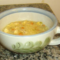 Creamy Chicken Soup With Orzo