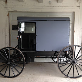 Amish Car by Carol Huttemann - Transportation Other