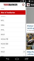 Screenshot of Yardbarker