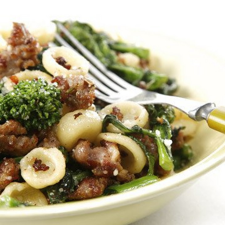 Orecchiette with Broccoli Rabe Recipe | Yummly