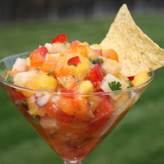 Tropical Treasure Mango Salsa by Ali Baba's Babes
