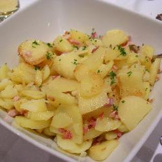 Pan-fried Potatoes with Bacon