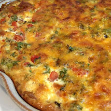 Basic 'use-It-Up' Quiche