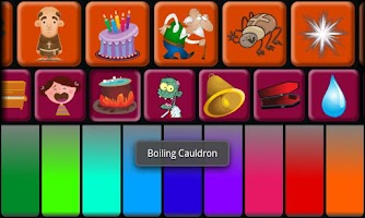 Screenshot of Kids Halloween Piano Free