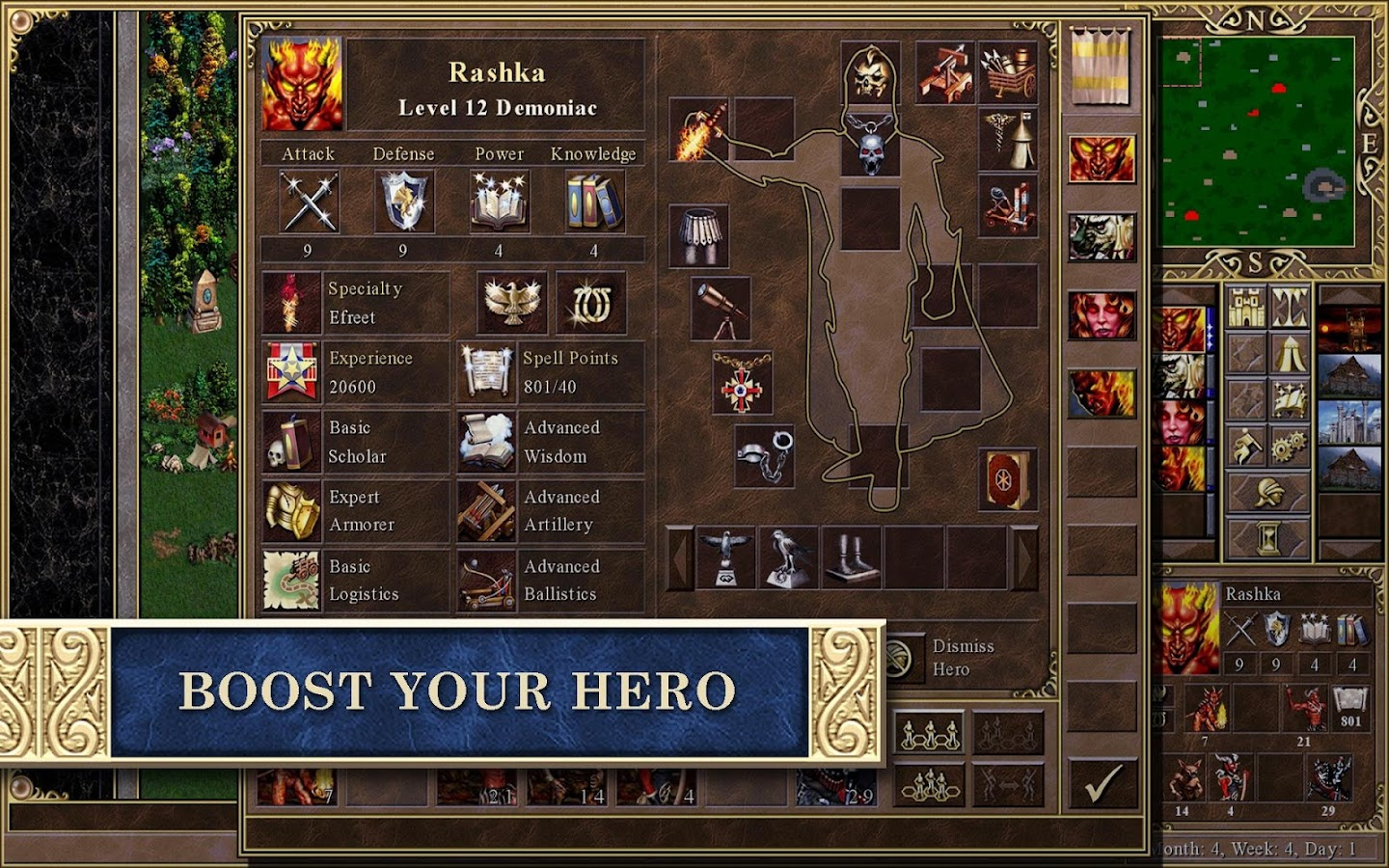 Heroes of Might & Magic III HD Screenshot 9