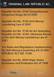 PHILIPPINES CRIMINAL LAW - screenshot