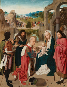 RIJKS: Geertgen tot Sint Jans: The Adoration of the Magi 1485