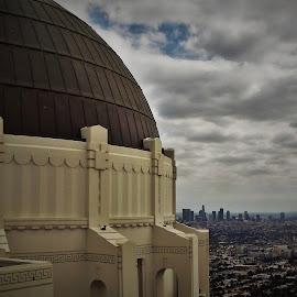 L.A. by Lavonne Ripley - City,  Street & Park  Vistas
