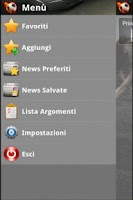 Screenshot of Calcio News - DLRR