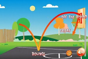 Screenshot of Basketball Trick Shots Lite