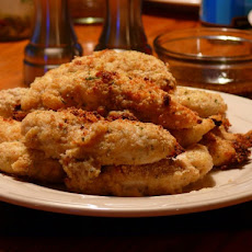 Crunchy Parmesan Chicken Tenders