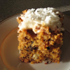Baby Food Pineapple Coconut Carrot Cake