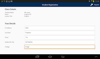 Screenshot of NetSupport School Student