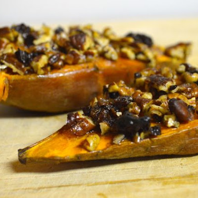 Roasted Sweet Potato Boats