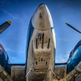 Underbelly by Ron Meyers - Transportation Airplanes