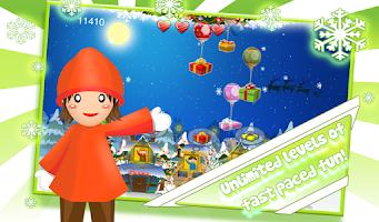 Screenshot of Santa Floating Gifts