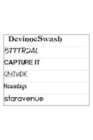 Screenshot of ReChat Font Pack 5