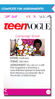 Screenshot of Teen Vogue Me Girl