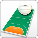 Handball coach's clipboard icon