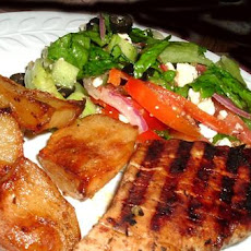 Grilled Greek Pork Tenderloin