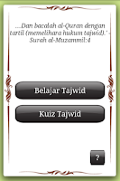 Screenshot of E-Tajwid (Malay)