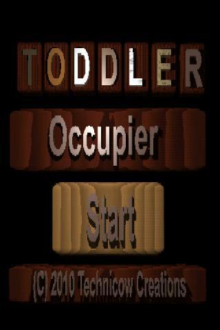 Toddler Occupier DEMO