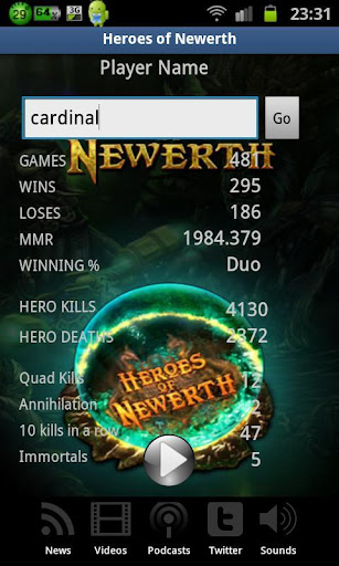 Heroes of Newerth MultiApp HoN