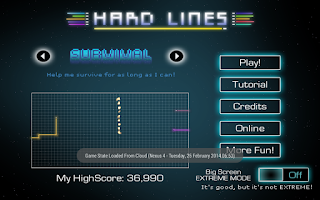 Screenshot of Hard Lines - WORLD CUP SALE
